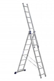 Лестница 3-секционная 5,04м алюминиевая