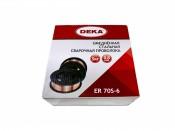 Проволока сварочная DEKA ER70S-6 0,8мм (5кг) (Китай)